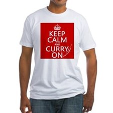 Keep Calm and Curry On Shirt
