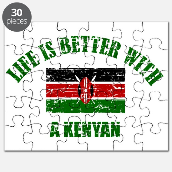 Life is better with a Kenyan Puzzle