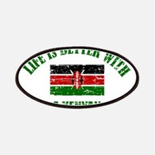 Life is better with a Kenyan Patches