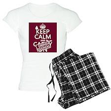 Keep Calm and Drink Eggnog Pajamas