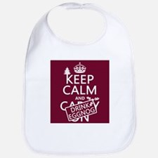 Keep Calm and Drink Eggnog Bib