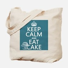 Keep Calm and Eat Cake Tote Bag