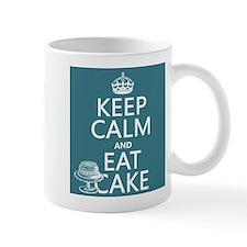 Keep Calm and Eat Cake Mug