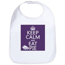 Keep Calm and Eat Pie Bib