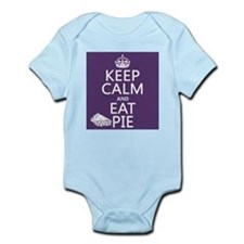 Keep Calm and Eat Pie Infant Bodysuit