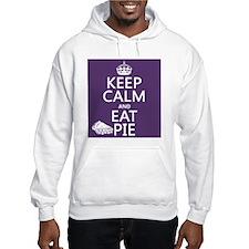 Keep Calm and Eat Pie Hoodie