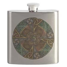 Celtic Aperture Mandala Flask