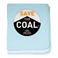 Save the Coal baby blanket
