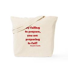 Failing to prepare Tote Bag