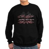 Black biker Sweatshirt (dark)