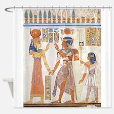 Cute Egyptian Shower Curtain