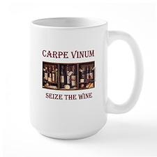 Carpe Vinum -Seize the Wine Mug