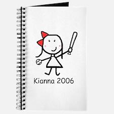 Softball - Kianna Journal