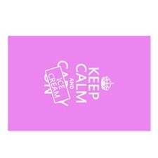 Keep Calm and Ice Cream Postcards (Package of 8)