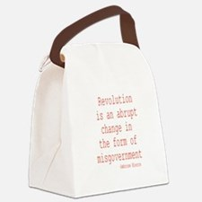 Misgovernment Canvas Lunch Bag