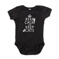 Keep Calm and Keep Cats Baby Bodysuit