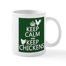 Keep Calm and Keep Chickens Mug