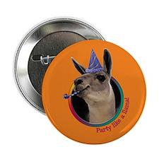 "Llama Birthday 2.25"" Button (10 pack)"