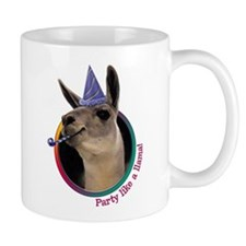 Llama Birthday Mug