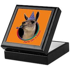 Llama Birthday Keepsake Box