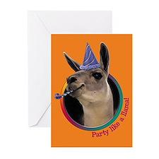 Llama Blank Cards (6)