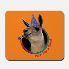 Llama Birthday Mousepad