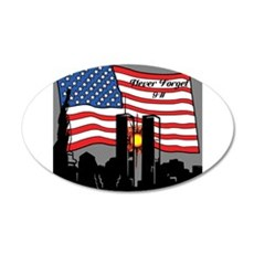 Never Forget 9-11 Wall Decal