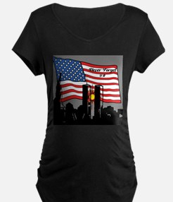 Never Forget 9-11 Maternity T-Shirt