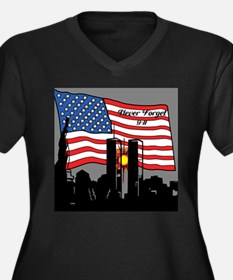 Never Forget 9-11 Plus Size T-Shirt