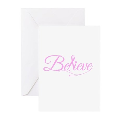 Believe Greeting Cards