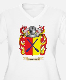 Torrance Family Crest (Coat of Arms) Plus Size T-S