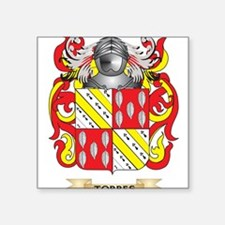 Torres Family Crest (Coat of Arms) Sticker