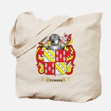 Torres Family Crest (Coat of Arms) Tote Bag