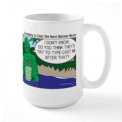 Movie Casting Large Mug
