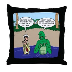 Movie Casting Throw Pillow