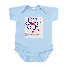 Concu avec amour (garcon) Infant Bodysuit