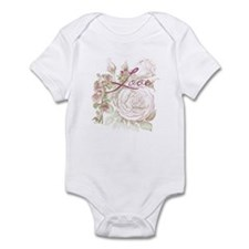 Vintage Floral Love Infant Bodysuit