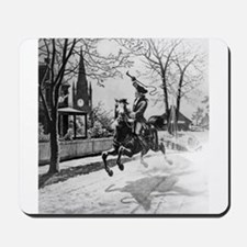 The Midnight Ride of Paul Revere Mousepad