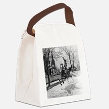 The Midnight Ride of Paul Revere Canvas Lunch Bag