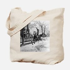The Midnight Ride of Paul Revere Tote Bag