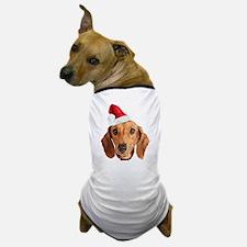 Dachshund_Xmas_face002 Dog T-Shirt