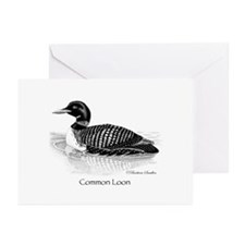 Common Loon Greeting Cards (Pkg. of 10)