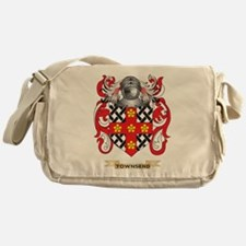 Townsend Family Crest (Coat of Arms) Messenger Bag