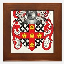 Townsend Family Crest (Coat of Arms) Framed Tile