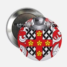 """Townsend Family Crest (Coat of Arms) 2.25"""" Button"""