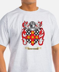 Townsend Family Crest (Coat of Arms) T-Shirt