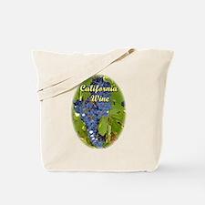 California Wine - Grapes at Vineyard Tote Bag