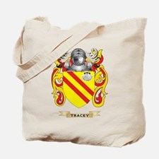 Tracey Family Crest (Coat of Arms) Tote Bag