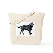 Augie BISS Black Labrador Tote Bag