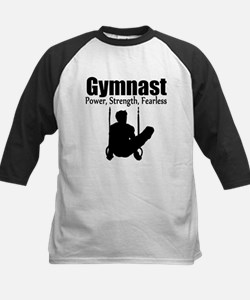 POWER GYMNAST Kids Baseball Jersey